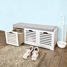 prepac ashley shoe storage bench white. beautiful bench sobuy white storage bench with 3 drawers u0026 removable seat cushion shoe  cabinet for prepac ashley