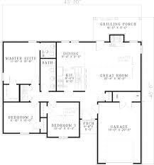 impressive simple ranch house plans 8 basic ranch style