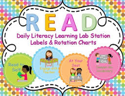 Reading Center Rotation Chart Centers Rotation Chart Worksheets Teaching Resources Tpt