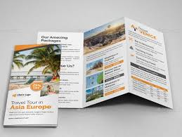 Hotel Brochure Designs 40 Best Travel And Tourist Brochure Design Templates 2019