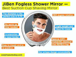 best fog free shower mirror shower mirror review pros and cons check our best suction cup best fog free shower mirror