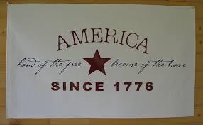 patriotic vinyl wall art