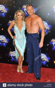 Ola Jordan and James Jordan Strictly Come Dancing launching event Stock  Photo - Alamy