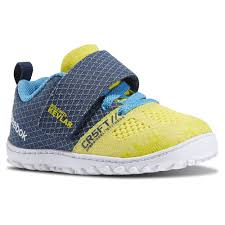reebok crossfit shoes blue. reebok crossfit nano 5.0 stinger yellow/batik blue/california blue kids training shoes crossfit