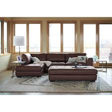 Value City Furniture Red Leather Sofa