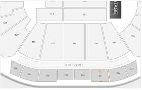 Sprint Center Concert Seating Chart Interactive Map