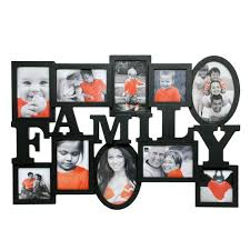 family heritage piece true frame set design collage frames double love black wall cute three white