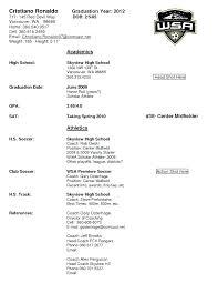 Football Coaching Resume Template Coaching Resume Template