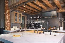 rustic cabin kitchen