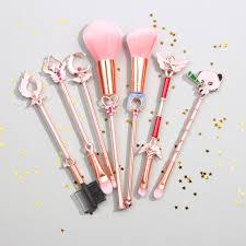 star guardian league of legends makeup brush set6