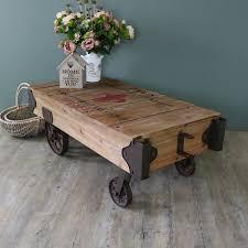 railway trolley coffee table uk rascalartsnyc