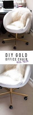 gold office chair diy ikea home alice tenise