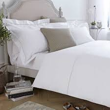 verona duvet cover white