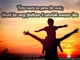 Father Son Love Quotes Mesmerizing I Love You Messages For Son Quotes WishesMessages