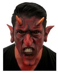 red devil latex application devil makeup makeup itself horror