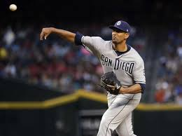san go padres starting pitcher tyson ross throws against the arizona diamondbacks during the first inning
