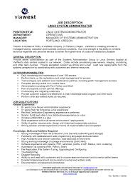 Linux System Administrator Resume Updated Unix Administrator Resume
