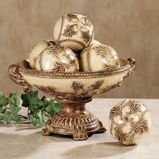 Decorative Bowl With Balls Vinelle Decorative Balls 2