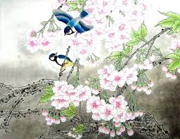 cherry blossom paintings cherry x x cherry blossom oil painting canvas