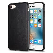 tendlin iphone 8 case iphone 7 case with premium leather outside and flexible tpu silicone hybrid