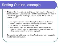 literary analysis essays djd setting outline