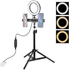 Camera 70cm Tripod Mount + Live Broadcast Dual ... - Amazon.com