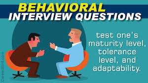 Behavioral Interviewing Behavioral Interview Questions And Answers