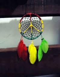 Bob Marley Dream Catcher Rasta dreamcatcher Hippie Rasta style