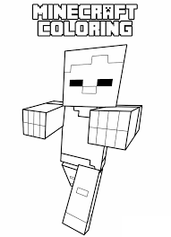 Minecraft Coloring Pages Axe Awesome Printable Pick Coloring Pages