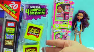 Grossery Gang Vile Vending Machine Gorgeous Shopkins Surprise Blind Bags Grossery Gang Vile Vending Machine