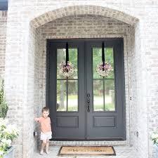 colored front doorsBest Front Door Paint Colors In Stylish Home Decoration Idea P98
