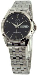 q q for men analog stainless steel watch a156 202y price 82 50 aed brand q q watch shape round