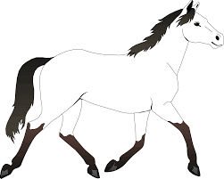 Good Coloring Page Of A Horse 38 For Your Coloring For Kids With