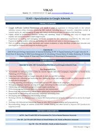 Seo Sample Resumes Download Resume Format Templates