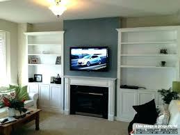 tv fireplace ideas lovely inspirational tv fireplace wall