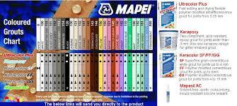 Mapesil Sealant Colour Chart Mapei Grout Colour Chart In 2019 Mapei Grout Colors Mapei
