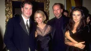 Demi Moore und John Travolta ...