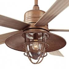 rustic outdoor ceiling fans. Hampton Bay Metro 54 In. Rustic Copper Indoor/outdoor Ceiling Fan Intended For Outdoor Fans Q