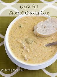 crock pot broccoli cheddar soup flour