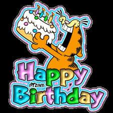 birthday happy 35th birthday birthday stuff garfield es 720x720