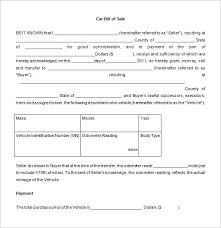 Bill Of Sale Template 44 Free Word Excel Pdf Documents