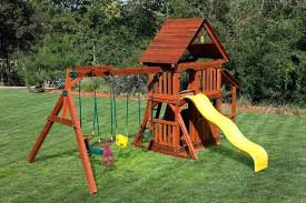 ship swing sets wooden play set with playhouse wooden ship swing set plans