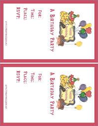 Free Birthday Invitations Maker My Card Invitation Samples