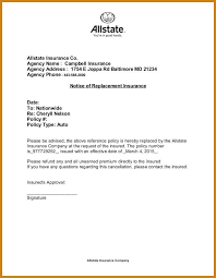 insurance cancellation letter insurance cancellation letter letter format template