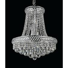 16 light chandelier 8 crystal inch chrome free