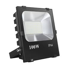 W LED Flood Lights Lm Daylight White LE - Led exterior flood light fixtures