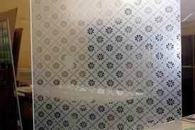 flower pattern glass etching