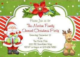 Free Christmas Invitation Templates Free Christmas Invite Templates Best Template Idea 10