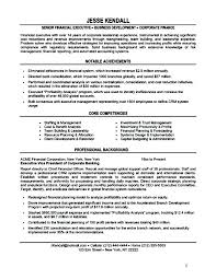 Executive Resume Format – Resume Reviews