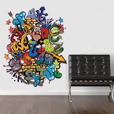 graffiti art wall decal